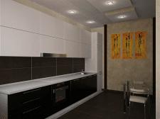 проект гостиной-студии