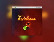 Флеш-сайт интерьер-студии Deliano