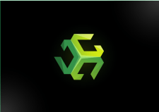 Логотип компьютерной фирмы Gveston