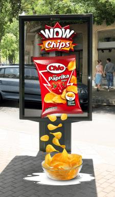 чипсы Chio в 4d