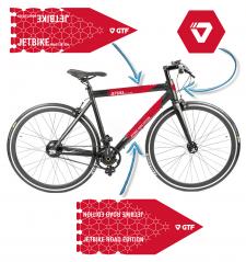 GTF - брендирование велосипеда