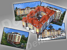 Визуализация домов