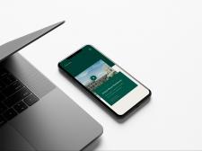 Дизайн сайта премиального мобильна версия