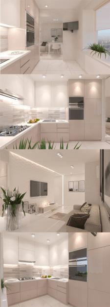 Дизайн гостиной. Дизайн кухни