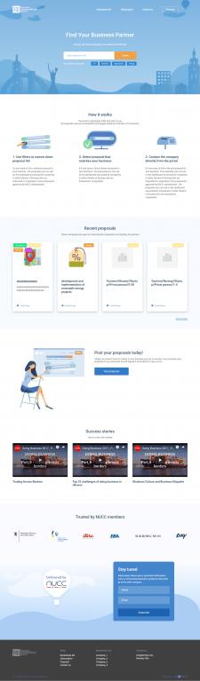 Frontend разработка многостраничного сайта