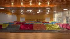 Разработка дизайна актового зала музыкальной школы