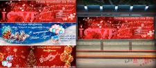 """Банери для Студії аеродизайну """"Мир шаров"""""""