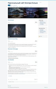 Дизайн, верстка, сборка на Joomla