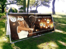 Outdoor banner design