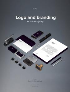 Логотип и брендинг Violet