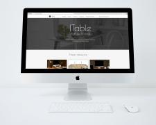 Дизайн для сайта, продающего умные столы