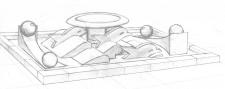 """Проект фонтана """"Дельфины"""""""