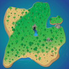 Карта для браузерной игры