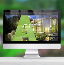 Дизайн сайта «АндоСтрой»