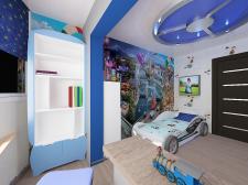 4х комнатная квартира на ул.Глушко ,детская