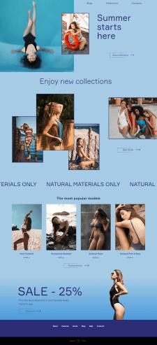 Swimwear online store