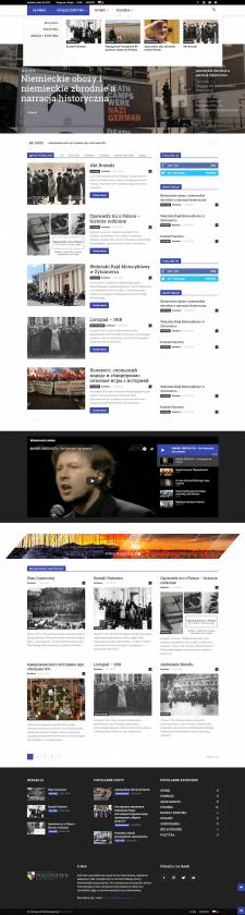 Сайт информационного портала Polonews