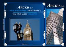 Flash сайт западной компании ARCKIS ltd
