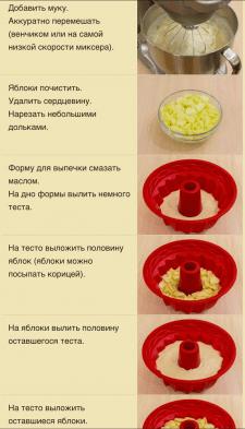 Рецепт шарлотки с фото отчетом