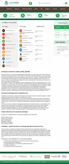 Продвижение сайта-обменника Bitcoin (США)