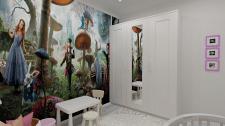Дизайн детской комнаты для девочки 2 лет