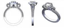 3D модель кольца