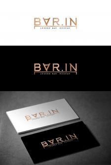 Разработка логотипа кальянной/лаунж бара BAR.IN
