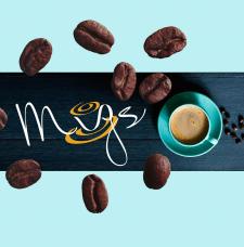 Logo кофейня  Mugs