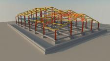 Концепция каркаса здания (Изображение 1)