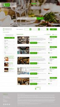 Редизайн сайта RestOn (конкурсная работа)