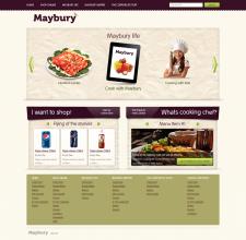 Корпоративный сайт продуктового интернет магазина