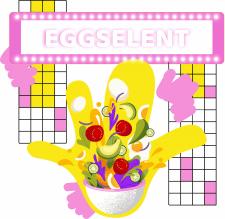 векторні иллюстрації для eggsellent