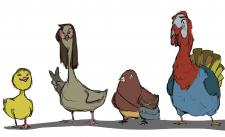 Иллюстрации птиц
