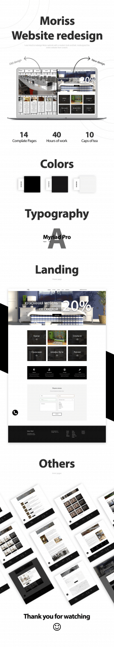 Website redesign/Catalog