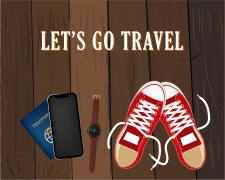 Let's go travel - векторна графіка