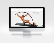 Сайт антикварной галереи