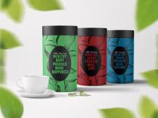 Дизайн тубуса с чаем