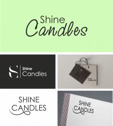 Логотип Shine Candles