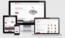 Корпоративний сайт для OLFY Sp. z.o.o.