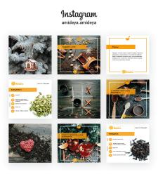Оформление постов + обработка фото