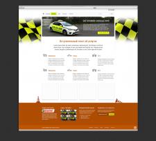 Дизайн сайта службы такси