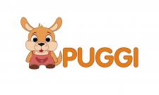Логотип спортивных липучек Puggi