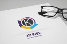 Logo for 3D KIEV