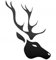 Векторный олень