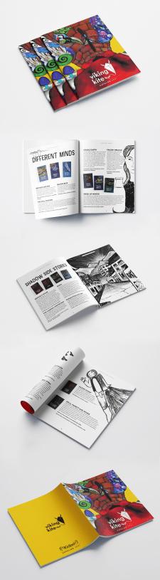 Viking Kite.  Дизайн и верстка каталога