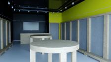 Визуал и 3д моделирование внутри ТРЦ