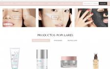 Поддержка сайта косметики kossmetics.es