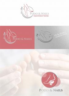 логотип для подолога Podo&Nails