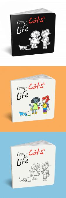 """Иллюстрации для книги """"Cats' Life"""""""