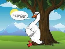Иллюстрация персонажа ManiDuck